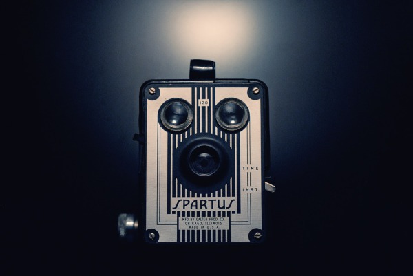 Picture of a old style camera